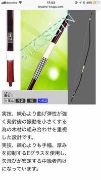 弓道について 直心Iを使いこなすために、注意すべき点は何でしょうか。
