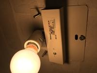 この画像の照明の電球をLEDに変えたいのですが可能でしょうか?  白熱灯専用の照明でしょうか?  よろしくおねがいします。