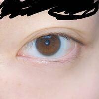 三白眼 に なりたい