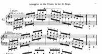 ピアノ アルペジオ Cの和音のアルペジオを練習しているのですが音がつながらず不自然に聞こえます。上手い人は音が繋がっているのですがこの時の指くぐりの仕方を教えてください.前にも同じ質問をしましたがまだ...
