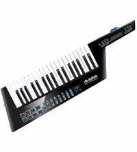Alesis ワイヤレスUSB/MIDI ショルダーキーボード・コントローラー 加速度センサー搭載 Vortex Wireless 2 を購入しようと考えているのですが、  楽器未経験には難しいですか?  iPhoneでも無料の音源が使えます...