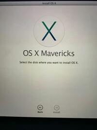 Mac初期化時に誤ってMacintosh HDを消去してしまいました。osを再インストールしようとするとこうなります。どうすれば良いでしょうか。