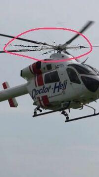 α6000でヘリコプターを上手に撮影する方法を教えてください。動画で撮影をしたらこうなりました。 ローターブレードが綺麗に映りませんでした。何故かわかりますか?