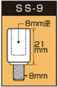 スーパーカブ110 JA07 丸目の純正に近いミラーアダプターは何ですか? 「バイクミラー 両逆ネジ26号ミラー 8mm 左右セット 6031」を買いました。  アダプターはミラーが割れた時に外して捨ててしまいました。 ...