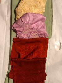 母からもらった 帯揚げです。 絞りの帯揚げは どのような着物と合わせられますか?