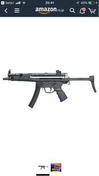 東京マルイ10禁エアコキのMP5A3について質問です。 当銃には、アタッチメント等を付けることができるでしょうか?