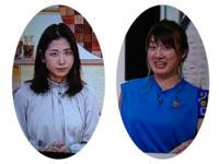 桑子真帆アナと大島由香里アナ どちらが巨乳でしょうか。