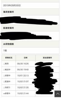 佐川急便の配達の追跡サービス的なやつでこうなったのですが、不在票がなく、どうして良いかわかりません。原因と解決法を教えてください。