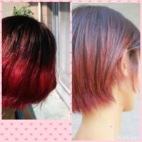 髪の毛の色をシャンプーで変えたい! 昨日美容室で、染めたのですが、ブリーチしてマニパニした。 もっと落ち着いた感じ(フェミニン)にしたかったんです! 美容師さんに色を長持ちさせるならピンクシャンプー使ってと言われたのですが… もっと優しいし色にするならでムラしゃん使ったら落ち着きますか? 諦めてピンクシャンプー使うべきか… 理想は右の髪色でした 他に手軽で(シャンプーとかトリートメント)いい...