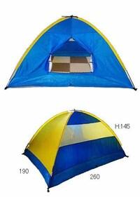 フライシートをさがしています。 古くて安いホームセンターなどで買ったようなテントなのですが、とても使いやすいですし、めったに本格的に使用することもないので、これからも使いたいと思っているのですが、フ...