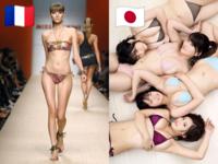 フランス人女性が痩せているのは何故ですか? 日本のグラドルは肉付きいいですが フランスのグラドルはめちゃくちゃ細いですよね