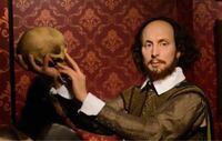 シェイクスピアと調べるとこの絵(?)が出てきますが、シェイクスピアはのこの絵(?)は何をしている作品なのでしょうか。もしちゃんとした絵画なのでしたら、美術館にあるような説明を教えてください。