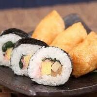 いなり寿司と太巻きずしだったらどっち好き? (^o^)