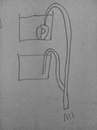 水槽を上下に2つ並べます。 上の水槽には水中ポンプがついてます。 ポンプをオンにして排水した場合下の水槽の水は抜けますか?  ホースは空気が入った状態からスタートですよ!  ホースの太さによるのかな?