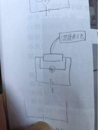 熱電対や温度表示器を初めて習いました。写真の真ん中の回路を描きたいのですが熱電対、温度表示器の回路図記号や書き方がわかりません。