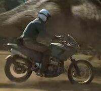 ジュラシックパーク・ロストワールドに出てたこのバイクはどこのメーカーですか?