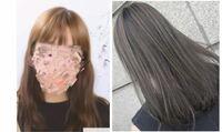 美容師や髪に詳しい方に質問です!! 私の今現在の髪色(左)から右のような感じになりたいのですがブリーチ無しでは厳しいでしょうか… 今現在ブリーチや黒染めはしたことないのですが透明感のある右のような感じにしたいと思ったのですがやはりセルフでは厳しいものなんでしょうか??  厳しいから美容院に行って写真を見せて見ようと思うのですが美容院or詳しい方から見て1回のcolorで出来ると思いますか??...