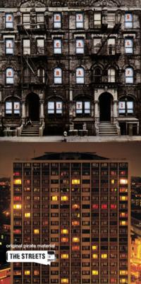 ビルや集合住宅の、真っ正面のアルバムジャケットは、何がありますか?