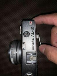 フィルムカメラについて 最近フィルムカメラに興味を持ち始めたので中古ショップにおいて 『Minolta(ミノルタ) AL-E』 というフィルムカメラを買う際に動作確認をせずに購入してしまいました  購入してから清掃し...