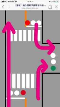 自転車で左折用信号なんか普通守りませんよね?  http://imgur.com/d4gj2hj.png