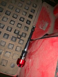 バイクについてです。 Cbr250rrのハンドルの中のバーが取れてしまいました。歯車型のゴムも切れてしまってます。どうればいいですか。