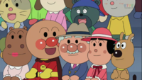 アンパンマンのキャラクター この画像の左ってかばおくんのお母さんですか? 名前はありますか?教えてください。