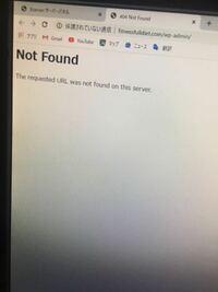 エックスサーバーでWordPressの管理画面に行こうとするとこんな画面がでます。助けて下さい。前はこの接続ではプライバシーが保護されません。って来ました。お願い致します