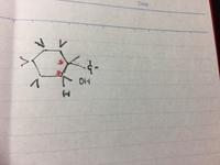 <<シクロヘキサン、不斉炭素>>  添付ファイルご覧ください。 こちらのシクロヘキサンですが、赤で記した2つの炭素が不斉炭素という理解で正しいでしょうか?  よろしくお願い 申し上げます。