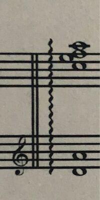 アルペジオの弾き方について教えて下さい。 画像の楽譜の場合、左手と右手を同時にスタートさせるのではなく、左手→右手というように弾くんですか?