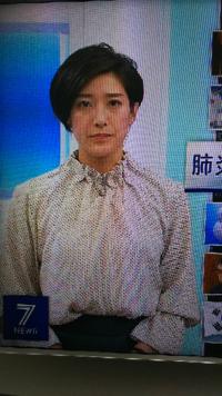 質問します。 1. ニュース7の上原光紀アナ、白ぽっい柄物トップスにグリーンのスカートは素敵ですか?  2. 今夜の綺麗度は如何ですか(100点満点で)?  (◆danさん用◆)