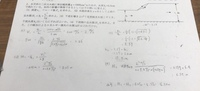水理学の問題ですが このような解答であっているのでしょうか? 詳しい方教えてください。お願い致します。