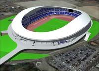 先日、ナニコレ珍百景で栃木県宇都宮市の新陸上競技場が紹介されてましたが、 デザインは新国立より優れてると思うのですが?  写真はパースですが本物はもっと美しいスタジアムです。
