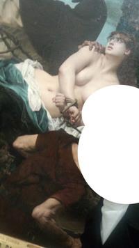 この絵画、何という絵ですか? オルセー美術館で撮影したものだと思います  一部しか写って無くて申し訳ないんですけどよろしくお願いします