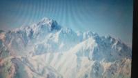 唐松岳山頂から。右端の山は何ですか。池ノ平山ですか。