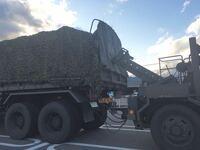 自衛隊の車両を見たのですが、これってどんな時に使われる車両ですか?