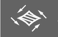 交差点の中央にある「4つの矢印があるマーク」?  交差点の中央にある「4つの矢印があるマーク」(添付画像)の正式名称を教えていただけないでしょうか?   よろしくお願い申し上げます。