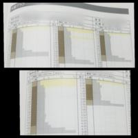 地盤調査結果の見方がわからないのですが、これは問題ないのでしょうか。 自沈してるところも、ポイントで3つくらいありましたが改良なしでした。 ss式です。
