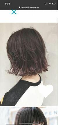 ブリーチなしでこのくらいの髪色にしたら色落ちする場合この色より暗くなるんですか?