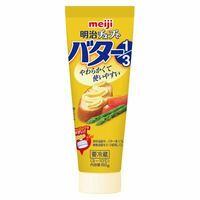 明治 チューブでバターについて バターより安かったのでチューブでバターを買ってきてしまいましたが、中身がほぼマーガリンであることに気がつきました  普段からパンは食べないですし、パン食べるならバター買...