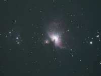 オリオン大星雲M42を撮影しました。鳥の形に似ていますが、こういう星雲は、なぜ形が空の雲のように変化しないのでしょうか。