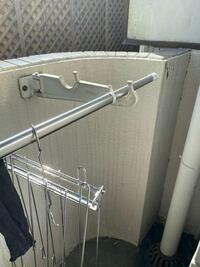 こういう物干し竿お置きの高さを上げる方法はありますか? 洗濯物が地面についてしまうし乾かないし…改善できるならしたいです。