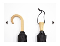 日傘の持ち手、どっちの方が便利でしょうか。