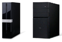 デスクトップパソコンの購入について質問です。  同じスペックで,ほぼ同じ値段の場合,スリムタイプ(下の写真の左)とミニタワー(右)では,どちらを選ぶべきでしょうか? どのような基準で選んだらよいのか...