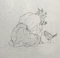 鬼滅の刃 第8巻 66話の最後の空きページにのっている烏と一緒に泣いている子は誰ですか?? 千寿郎くんかと思いましたが、結んでいる髪の先が黒いので(千寿郎くんは白い)また別の方ですかね…?