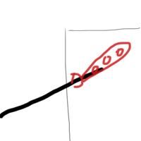 物干し竿の高さを足したい  賃貸のベランダで日よけしたいのですが、物干し竿が中途半端な位置にあるため、物干し竿から吊るすタイプの日よけがつかえません。(窓に対して高さが足りない) ※ 団地によくある身長より高いタイプの物干し竿です。壁止めです。  最近のマンションなどでよくある腰の高さの物干し竿にはサオアップなる商品があるようです。これは穴に留まるタイプなのですが、この商品のような...