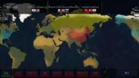 この世界線で第三次対戦に突入したらどうなると思いますか? とあるゲームで現代をベースに陣営を適当にいじくりました  日米同盟は普通に、中韓朝は韓国を中国陣営に加えた感じ、で英仏露は第3陣営があったら混沌とするかなって感じで作成してみました  流石に架空世界線なので思想を振りかざしてクレームをつける方はご遠慮したいです