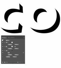 イラストレーターCC2017を使用しております。 以前こちらで質問をして文字に影を作りました(アピアランスの変形) このデータで、影の部分(黒いところ)のみのアウトラインを作りたいのですが、どのようにすれ...