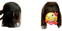 お礼100枚!髪型の評価お願いします! 高校2年生女子です 自分で巻いてみたのですがお世辞抜きでアドバイスお願いします