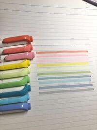 蛍光ペンの使い分けが上手く行きません、普段貴方が使っている使い分け方を教えて欲しいです!