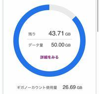 SoftBankウルトラギガモンスター50ギガ を契約している者です。 プライムビデオを観ていて 残りの通信量を確認すると ギガーノーカウント使用量が増えていて、 普段通りカウントされていませんでした。  前までこ...